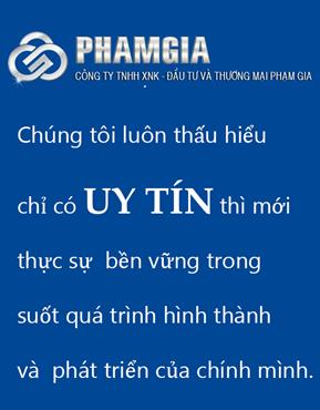 Công ty TNHH XNK Đầu tư và Thương mại Phạm Gia